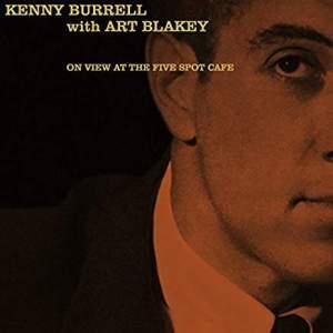 KennyBurrellwithArtBlakeyOnViewAtFiveSpotCafe